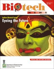 Indian Biotech Sector Eyeing the Future - Biotechnews
