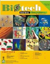 C O N T E N T S - Biotech News