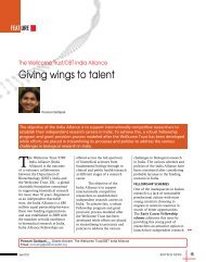 Giving wings to talent - Biotech News