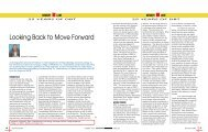 Looking Back to Move Forward - Biotech News