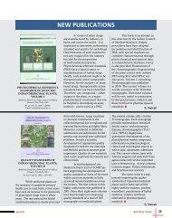 NEW PUBLICATIONS - Biotech News