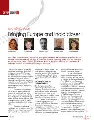 Bringing Europe and India closer - Biotechnews