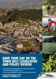2012-10-townbelt-summary - Newtown Residents Association