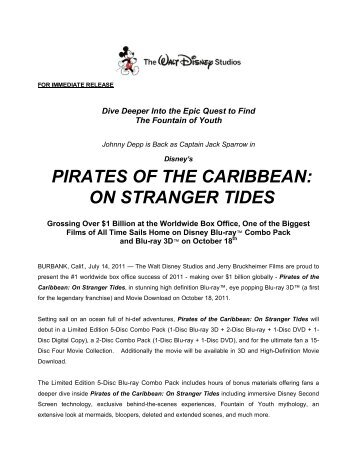 pirates of the caribbean: on stranger tides - Master Collector ONLINE