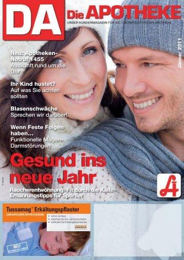 Gesund ins neue Jahr - und Notdienst-Apotheken - Österreichische ...