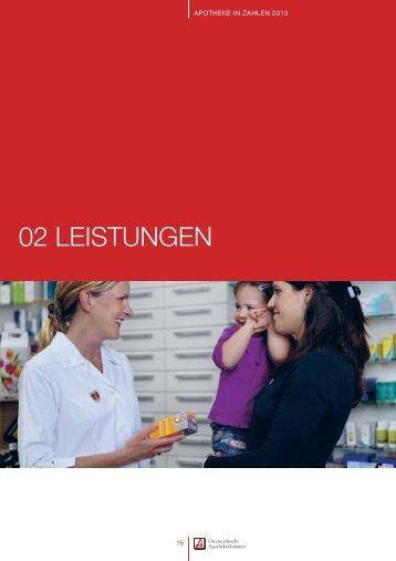 02 leistungen - Pharmazeutische Gehaltskasse