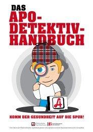 HANDBUCH APO- DETEKTIV-