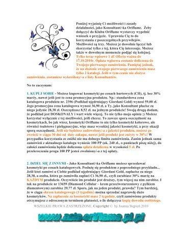 Poznaj Oriflame 1 zl