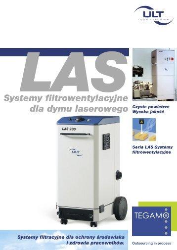 Systemy filtrowentylacyjne dla dymu laserowego Czyste powietrze