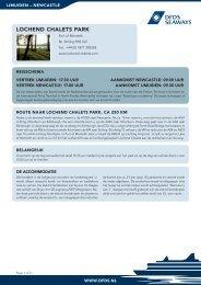 LOCHEND CHALETS PARK - DFDS Seaways
