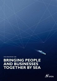 Bringing people and Businesses together By sea - DFDS.com