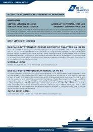 9-DAAGSE RONDREIS BETOVEREND SCHOTLAND - DFDS.com