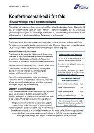 Konferencemarked i frit fald - DFDS.com