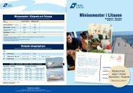 Minisemester i Litauen - DFDS.com
