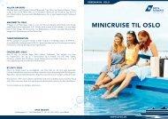 MINICRUISE TIL OSLO - DFDS.com