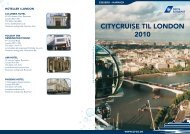 CITYCRUISE TIL LONDON 2010 - DFDS.com