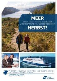 meer herbst! - DFDS.com
