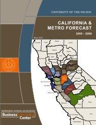 California & Metro foreCast - University of the Pacific Business ...