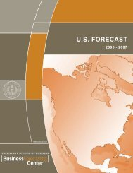 US Forecast Feb. 2005 - University of the Pacific Business ...