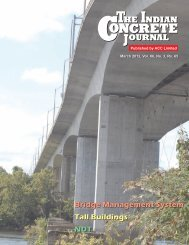 Bridge Management System Tall Buildings NDT - The Indian ...
