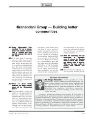 Hiranandani Group ? Building better communities - The Indian ...
