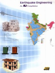 Earthquake Engineering - The Indian Concrete Journal