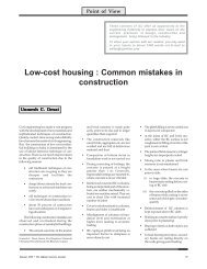 Low-cost housing : Common mistakes in construction - The Indian ...