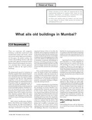 What ails old buildings in Mumbai? - The Indian Concrete Journal
