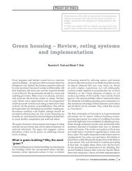 Green housing - The Indian Concrete Journal