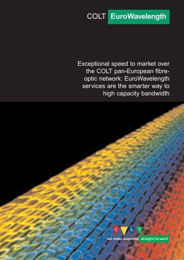 COLT EuroWavelength