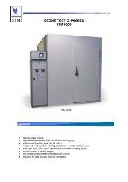 Anseros Ozone Test Chamber SIM 8000