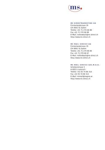 Lettershop - ms direct