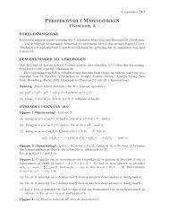 Perspektiver i Matematikken