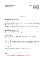 Meddelelse 3 - Aarhus Universitet