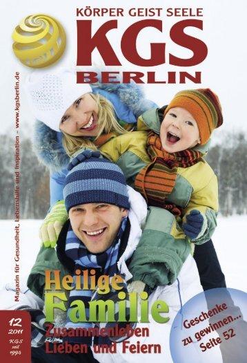Heile Familie - Veranstaltungskalender für Körper Geist und Seele