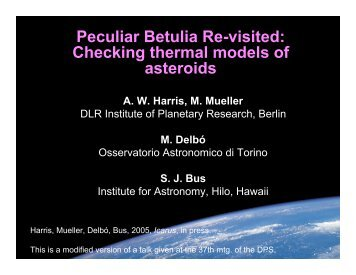 Peculiar Betulia Re-visited: Checking thermal models of asteroids