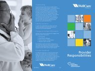 Provider Responsibilities - WellCare
