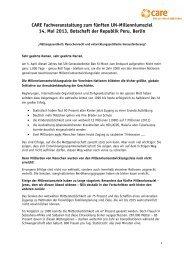 Impulsvertrag Müttergesundheit als Menschenrecht Rita Süssmuth