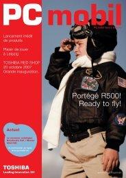 Portégé R500! Ready to fly! - Toshiba