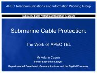 Submarine Cable Protection Information Resource