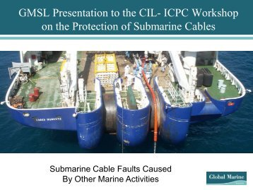 Submarine Cable Faults Caused by Maritime Activities