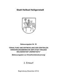 Bebauungsplan Nr. 55 2.Entwurf - Begründung Stand Dezember 2012