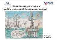 Offshore Oil and Gas in the South China Sea: Trends and Limits of ...