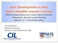 1. 1979/1990 Malaysia-Thailand JDA - Centre for International Law
