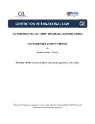 The Philippines' Country Report - Centre for International Law