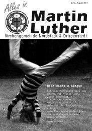 Alles in - Martin-Luther-Kirche Hildesheim