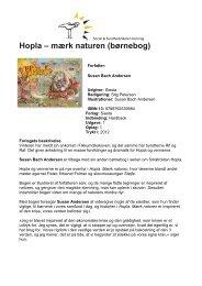 Hopla – mærk naturen (børnebog) - itslearning