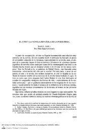Actas X. AIH. El cine y la novela española de la postguerra ...