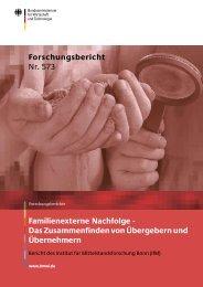 Das Zusammenfinden von Übergebern und ... - Schulz & Partner