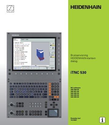 Benutzer-Handbuch iTNC 530 (340 422-xx) de - heidenhain